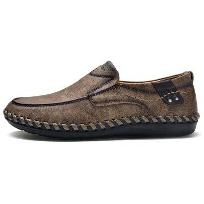 Men Casual Soft Slip-on PU Leather Oxford ShoesMen's Oxford<br>Men Casual Soft Slip-on PU Leather Oxford Shoes<br><br>Closure Type: Slip-On<br>Contents: 1 x Pair of Shoes, 1 x Box<br>Function: Slip Resistant<br>Materials: Rubber, PU<br>Occasion: Casual, Daily, Holiday, Shopping<br>Outsole Material: Rubber<br>Package Size ( L x W x H ): 33.00 x 22.00 x 11.00 cm / 12.99 x 8.66 x 4.33 inches<br>Package weight: 0.7500 kg<br>Product weight: 0.6000 kg<br>Seasons: Autumn,Spring,Summer<br>Style: Fashion, Comfortable, Casual<br>Toe Shape: Round Toe<br>Type: Casual Shoes<br>Upper Material: PU