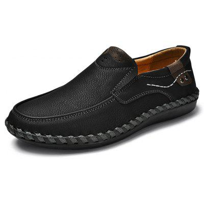 Men Casual SoftSlip-on PU Leather Oxford Shoes