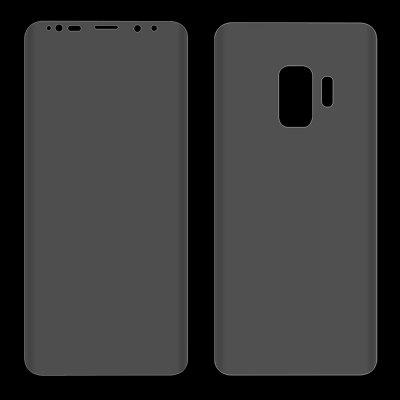 Hat - Prince Front + Back Full Film for Samsung Galaxy S9 PlusSamsung S Series<br>Hat - Prince Front + Back Full Film for Samsung Galaxy S9 Plus<br><br>Brand: Hat-Prince<br>Features: Ultra thin, Shock Proof, Protect Screen, High-definition, High Transparency, High sensitivity, Anti-oil, Anti scratch, Anti Glare, Anti fingerprint<br>Material: PET<br>Package Contents: 1 x Front Protective Film, 1 x Back Protective Film, 1 x Dust Absorber, 1 x Cleaning Cloth, 1 x Alcohol Pad<br>Package size (L x W x H): 18.30 x 9.40 x 1.00 cm / 7.2 x 3.7 x 0.39 inches<br>Package weight: 0.0430 kg<br>Product Size(L x W x H): 15.45 x 7.15 x 0.01 cm / 6.08 x 2.81 x 0 inches<br>Product weight: 0.0060 kg<br>Thickness: 0.1mm<br>Type: Screen Protector