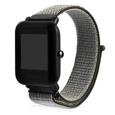 20mm Canvas Wrist Watch Strap for HUAMI Amazfit Youth Ed.
