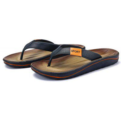 Men Trendy Street Anti-slip Flip-flops SlipperMens Slippers<br>Men Trendy Street Anti-slip Flip-flops Slipper<br><br>Contents: 1 x Pair of Shoes<br>Function: Slip Resistant<br>Materials: Rubber, Fabric<br>Occasion: Shopping, Daily, Casual, Beach<br>Outsole Material: Rubber<br>Package Size ( L x W x H ): 28.00 x 16.00 x 5.00 cm / 11.02 x 6.3 x 1.97 inches<br>Package weight: 0.5000 kg<br>Product weight: 0.4500 kg<br>Seasons: Summer<br>Style: Leisure, Fashion, Comfortable<br>Type: Slippers