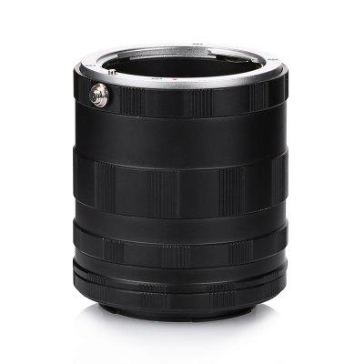 Macro Extension Adapter Tube SetLens<br>Macro Extension Adapter Tube Set<br><br>Applicable Camera Brand: Nikon<br>Package Contents: 1 x Macro Extension Tube Set<br>Package size (L x W x H): 7.20 x 6.50 x 6.50 cm / 2.83 x 2.56 x 2.56 inches<br>Package weight: 0.1220 kg<br>Product size (L x W x H): 6.90 x 6.40 x 6.40 cm / 2.72 x 2.52 x 2.52 inches<br>Product weight: 0.1060 kg