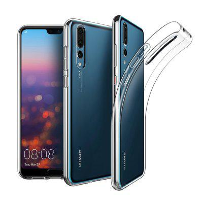 Naxtop Transparent Back Case voor HUAWEI P20 Pro