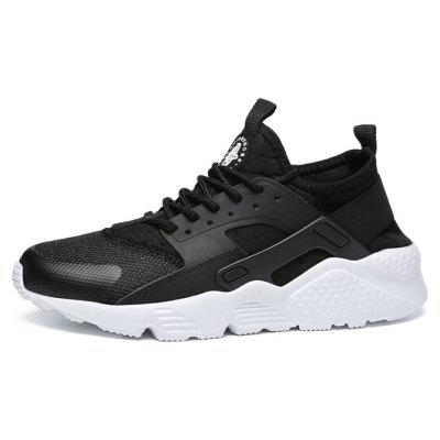 Men Outdoor Trendy Anti-slip Hiking Athletic ShoesMen's Sneakers<br>Men Outdoor Trendy Anti-slip Hiking Athletic Shoes<br><br>Contents: 1 x Pair of Shoes, 1 x Box<br>Function: Slip Resistant<br>Materials: Mesh Fabric, MD<br>Occasion: Sports, Shopping, Holiday, Daily, Casual, Basketball, Soccer<br>Outsole Material: MD<br>Package Size ( L x W x H ): 32.00 x 21.00 x 13.00 cm / 12.6 x 8.27 x 5.12 inches<br>Package weight: 0.8200 kg<br>Product weight: 0.6800 kg<br>Seasons: Autumn,Spring,Summer<br>Style: Fashion, Comfortable, Casual<br>Toe Shape: Round Toe<br>Type: Sports Shoes<br>Upper Material: Mesh Fabric