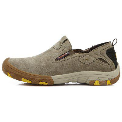 Men Stylish Outdoor Anti-slip Casual ShoesCasual Shoes<br>Men Stylish Outdoor Anti-slip Casual Shoes<br><br>Closure Type: Slip-On<br>Contents: 1 x Pair of Shoes, 1 x Box<br>Function: Slip Resistant<br>Materials: Rubber, Leather, MD<br>Occasion: Shopping, Sports, Office, Holiday, Daily, Casual<br>Outsole Material: MD,Rubber<br>Package Size ( L x W x H ): 33.00 x 22.00 x 11.00 cm / 12.99 x 8.66 x 4.33 inches<br>Package weight: 0.8000 kg<br>Product weight: 0.6500 kg<br>Seasons: Autumn,Spring,Summer<br>Style: Fashion, Comfortable, Casual<br>Toe Shape: Round Toe<br>Type: Casual Shoes<br>Upper Material: Leather