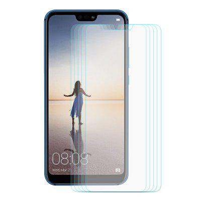 Hat - Prince Phone Tempered Glass for HUAWEI P20 Lite 5pcs цена 2017