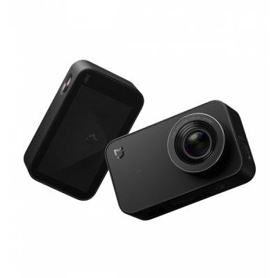 Xiaomi YDXJ01FM Mijia Mini 4K 30fps Action Camera International EditionAction Cameras<br>Xiaomi YDXJ01FM Mijia Mini 4K 30fps Action Camera International Edition<br><br>Anti-shake: Yes<br>Application: Bike, Extreme Sports, Motorcycle, Ski<br>Audio System: Built-in microphone/speaker (AAC)<br>Auto Focusing: Yes<br>Auto-Power On: Yes<br>Battery Capacity (mAh): 1450mAh<br>Battery Type: Removable<br>Brand: Xiaomi<br>Brand Name: Xiaomi Mijia<br>Camera Timer: Yes<br>Charge way: AC adapter<br>Chipset: Ambarella A12S75<br>Chipset Name: Ambarella<br>Decode Format: H.264<br>Features: Wireless, Mini, Cool<br>Function: Anti-Shake, WiFi<br>G-sensor: Yes<br>Image Format: JPG<br>Image resolutions: 3840?2160 (8.3MP)<br>Interface Type: TF Card Slot, Micro USB<br>Language: English<br>Max External Card Supported: TF 64G (not included)<br>Microphone: Built-in<br>Model: Camera Mini<br>Package Contents: 1 x Camera, 1 x Battery, 1 x USB Cable<br>Package size (L x W x H): 10.00 x 8.00 x 6.00 cm / 3.94 x 3.15 x 2.36 inches<br>Package weight: 0.2400 kg<br>Product size (L x W x H): 7.15 x 4.27 x 2.95 cm / 2.81 x 1.68 x 1.16 inches<br>Product weight: 0.0990 kg<br>Screen: With Screen<br>Screen resolution: 960 x 480<br>Screen size: 2.4 inch<br>Standby time: About 4 hours<br>Time lapse: Yes<br>Type: Sports Camera<br>Type of Camera: 4K<br>Video format: RAW, H.264<br>Video Frame Rate: 30FPS<br>Video Output: AV-Out<br>Video Resolution: 1080P ( 60fps ) ( EIS ),4K (3840 x 2160)<br>Wide Angle: 145 degrees wide angle<br>WIFI: Yes<br>WiFi Function: Image Transmission,Remote Control<br>Working Time: About 2 hours
