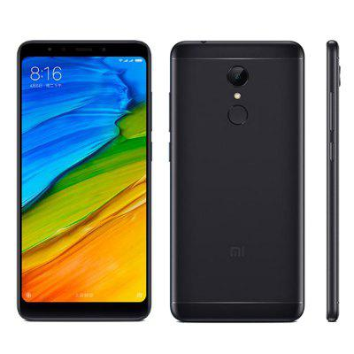 Xiaomi Redmi 5 4G Phablet 2GB RAM Global VersionCell phones<br>Xiaomi Redmi 5 4G Phablet 2GB RAM Global Version<br><br>2G: GSM 1800MHz,GSM 1900MHz,GSM 850MHz,GSM 900MHz<br>3G: WCDMA B1 2100MHz,WCDMA B2 1900MHz,WCDMA B5 850MHz,WCDMA B8 900MHz<br>4G LTE: FDD B1 2100MHz,FDD B20 800MHz,FDD B3 1800MHz,FDD B4 1700MHz,FDD B5 850MHz,FDD B7 2600MHz,FDD B8 900MHz,TDD B38 2600MHz,TDD B40 2300MHz<br>Additional Features: Calendar, Browser, Bluetooth, Alarm, 4G, 3G, Calculator, Camera, E-book, Fingerprint recognition, Fingerprint Unlocking, MP3, MP4, WiFi<br>Back-camera: 12.0MP<br>Battery Capacity (mAh): 3300mAh?typ? / 3200mAh?min?<br>Battery Type: Non-removable<br>Bluetooth Version: Bluetooth V4.2<br>Brand: Xiaomi<br>Camera type: Dual cameras (one front one back)<br>Cell Phone: 1<br>Cores: 1.8GHz, Octa Core<br>CPU: Qualcomm Snapdragon 450<br>E-book format: TXT, PDF<br>English Manual: 1<br>External Memory: TF card up to 128GB (not included)<br>Front camera: 5.0MP<br>Games: Android APK<br>Google Play Store: Yes<br>I/O Interface: Speaker, TF/Micro SD Card Slot, 2 x Nano SIM Slot, 3.5mm Audio Out Port, Micophone<br>Language: Multi language<br>Music format: MP3<br>Network type: FDD-LTE,GSM,TDD-LTE,WCDMA<br>OS: MIUI 9<br>OTA: Yes<br>Package size: 30.00 x 25.00 x 6.40 cm / 11.81 x 9.84 x 2.52 inches<br>Package weight: 0.3660 kg<br>Picture format: JPEG, PNG, JPG, BMP, GIF<br>Power Adapter: 1<br>Product size: 15.18 x 7.28 x 0.80 cm / 5.98 x 2.87 x 0.31 inches<br>Product weight: 0.1570 kg<br>RAM: 2GB RAM<br>ROM: 16GB<br>Screen resolution: 1440 x 720<br>Screen size: 5.7 inch<br>Screen type: Capacitive<br>Sensor: Accelerometer,Ambient Light Sensor,Gravity Sensor,Gyroscope,Hall Sensor,Proximity Sensor<br>Service Provider: Unlocked<br>SIM Card Slot: Dual Standby, Dual SIM<br>SIM Card Type: Nano SIM Card<br>SIM Needle: 1<br>Type: 4G Phablet<br>USB Cable: 1<br>Video format: MP4<br>Video recording: Yes<br>WIFI: 802.11b/g/n wireless internet<br>Wireless Connectivity: GPS, Bluetooth, 4G, GSM, WiFi, 3G