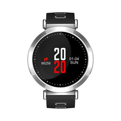 Wlngwear M10 Smart Bracelet 0.96 inch Color ScreenSmart Watches<br>Wlngwear M10 Smart Bracelet 0.96 inch Color Screen<br><br>Alert type: Vibration<br>Band material: Silicone<br>Band size: 25.6 x 1.8cm<br>Battery  Capacity: 120mAh<br>Bluetooth calling: Phone call reminder<br>Bluetooth Version: Bluetooth 4.0<br>Brand: Wlngwear<br>Built-in chip type: Nordic 52832<br>Case material: Metal<br>Charging Time: About 1.5 Hours<br>Compatability: Android 4.3 and above, Compatible for iOS 8.0 and above<br>Compatible OS: IOS, Android<br>Dial size: 4.06 x 4.06 x 1.16cm<br>Groups of alarm: 3<br>Health tracker: Blood Oxygen,Blood Pressure,Heart rate monitor,Pedometer,Sedentary reminder,Sleep monitor<br>IP rating: IP67<br>Locking screen: 5<br>Messaging: Message reminder<br>Notification: Yes<br>Notification type: Wechat, Line, WhatsApp, Facebook<br>Operating mode: Touch Screen<br>Other Function: Alarm, Bluetooth, Calendar, Waterproof<br>Package Contents: 1 x Smart Watch, 1 x USB Charging Cable, 1 x English - Chinese User Manual<br>Package size (L x W x H): 16.60 x 8.10 x 4.00 cm / 6.54 x 3.19 x 1.57 inches<br>Package weight: 0.1720 kg<br>People: Female table,Male table<br>Product size (L x W x H): 23.00 x 4.06 x 1.16 cm / 9.06 x 1.6 x 0.46 inches<br>Product weight: 0.0400 kg<br>RAM: 64K<br>ROM: 512K<br>Screen size: 0.96 inch<br>Shape of the dial: Round<br>Standby time: 15 days<br>Type of battery: Polymer Lithium Battery<br>Waterproof: Yes