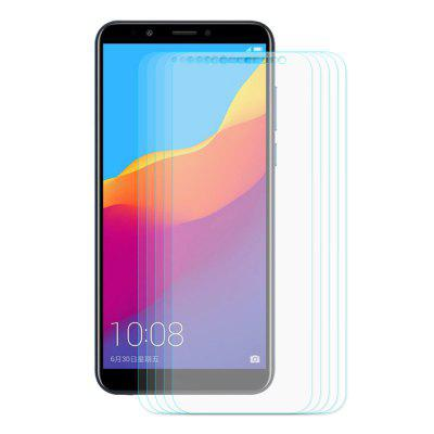Hat - Prince Tempered Glass for HUAWEI Honor Enjoy 7C 5pcsScreen Protectors<br>Hat - Prince Tempered Glass for HUAWEI Honor Enjoy 7C 5pcs<br><br>Brand: Hat-Prince<br>Features: Ultra thin, Shock Proof, Protect Screen, High-definition, High Transparency, High sensitivity, Anti-oil, Anti scratch, Anti Glare, Anti fingerprint<br>Material: Tempered Glass<br>Package Contents: 5 x Tempered Glass, 5 x Cleaning Cloth, 5 x Alcohol Pad, 5 x Dust Absorber<br>Package size (L x W x H): 18.00 x 9.40 x 1.60 cm / 7.09 x 3.7 x 0.63 inches<br>Package weight: 0.1230 kg<br>Product weight: 0.0600 kg<br>Surface Hardness: 9H<br>Thickness: 0.26mm<br>Type: Screen Protector