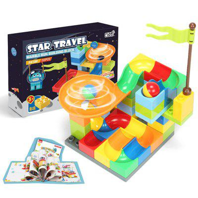 FUNLOCK F4108 Star Travel Slide Building Blocks Toy