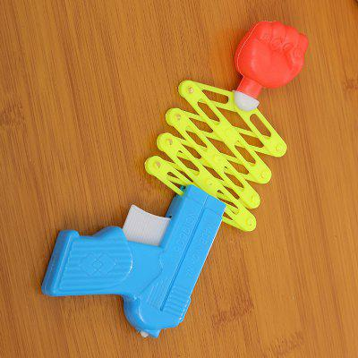 Children Whole Toy Gun Creative Telescopic Fist GunNovelty Toys<br>Children Whole Toy Gun Creative Telescopic Fist Gun<br><br>Features: Creative Toy<br>Materials: Plastic<br>Package Contents: 1 x Toy<br>Package size: 14.00 x 5.00 x 6.00 cm / 5.51 x 1.97 x 2.36 inches<br>Package weight: 0.0180 kg<br>Product size: 13.00 x 4.00 x 5.00 cm / 5.12 x 1.57 x 1.97 inches<br>Product weight: 0.0150 kg<br>Series: Entertainment<br>Theme: Trick