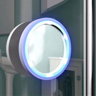 LED 8 Times Magnification Cosmetic Mirror
