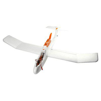 Explorer ZSX - 750 750mm Wingspan FPV RC Glider PNPRC Airplanes<br>Explorer ZSX - 750 750mm Wingspan FPV RC Glider PNP<br><br>Compatible with Additional Gimbal: No<br>ESC Current: 7A brushless ESC for brushless version<br>Function: Forward, Turn left/right, Up/down<br>Length: 615mm<br>Material: EPP, Plastic<br>Motor Model / RPM: 1306 brushless motor<br>Package Contents: 1 x RC Airplane, 1 x Battery, 1 x ESC, 1 x Motor, 2 x 9g Servo, 1 x 2g Servo, 1 x USB Cable, 1 x Chinese Manual, 2 x Sticker, 4 x Screw, 1 x Screwdriver, 1 x Carbon Fiber Reinforced Pipe<br>Package size (L x W x H): 110.00 x 67.50 x 43.50 cm / 43.31 x 26.57 x 17.13 inches<br>Package weight: 0.8700 kg<br>Product size (L x W x H): 75.00 x 61.50 x 14.00 cm / 29.53 x 24.21 x 5.51 inches<br>Product weight: 0.2100 kg<br>Servo Type: 2 x 9g, 1 x 2g<br>Takeoff Weight: 235g<br>Wingspan: 750mm