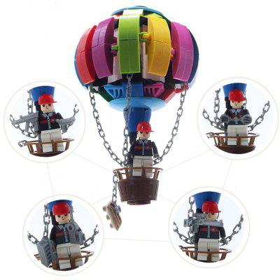 Hot-air Balloon Style Building Block DIY Puzzle Toy