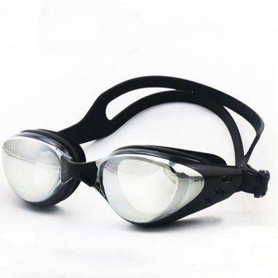 Sports Adult Swimming Goggles HD Electroplating Silica Gel Anti-fog