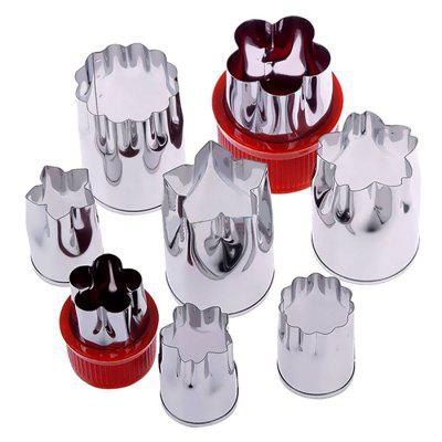 Multifunction Stainless Steel Embossing Mold 8pcs