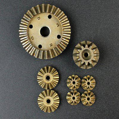 Metal Gear 2 SetsRC Quadcopter Parts<br>Metal Gear 2 Sets<br><br>Compatible with: WLtoys 12428 / 12428 - A / 12428 - B / 12428 - C / 12423 RC Car<br>Package Contents: 2 x 30T Differential gear, 2 x 12T Driving Gear, 4 x 24T Differential Planetary Gear, 8 x 12T Differential Asteroid Gear<br>Package size (L x W x H): 14.00 x 10.00 x 4.00 cm / 5.51 x 3.94 x 1.57 inches<br>Package weight: 0.0500 kg<br>Type: Gear