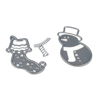 PXWG 18ZY00007 - 6 Metal Cutting Dies for DIY Crafts
