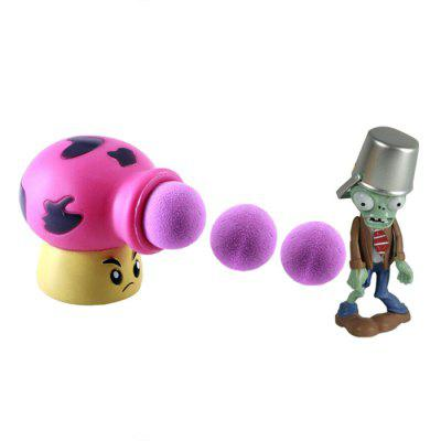 Mushroom Cannon Plant Fighters Ghost Model for Kids