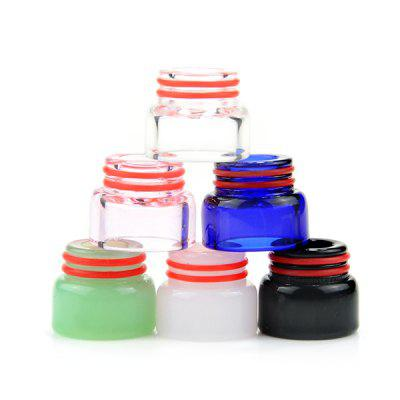 Colorful 810 Glass Drip Tip 6pcs