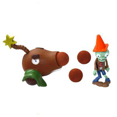 Plant Fighters Coconut Cannon Ghost Model for Kids