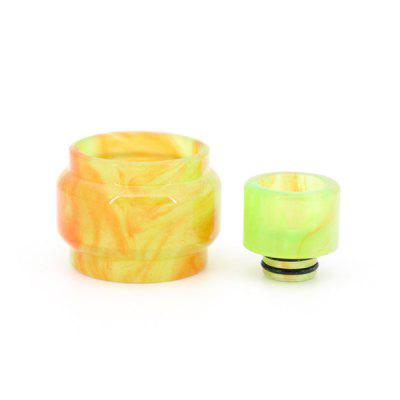 Clrane Replacement Resin Tank with Drip Tip 2pcs