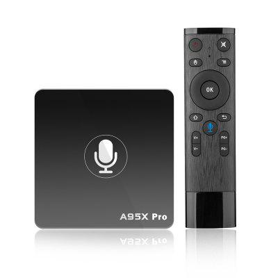 Gearbest A95X PRO Android TV Box with Voice Control