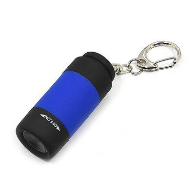 Mini Rechargeable Portable Keychain Light LED Flashlight