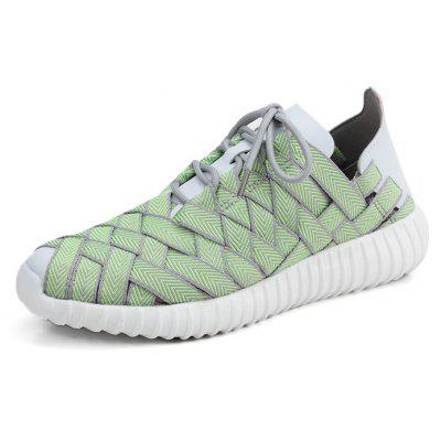Leisure Outdoor Breathable Woven Shoes for Couple