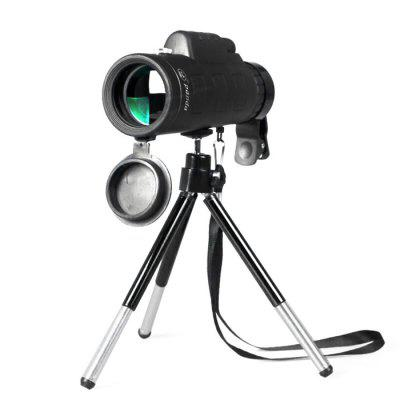 Water-resistant 40X 60mm Monocular with Tripod