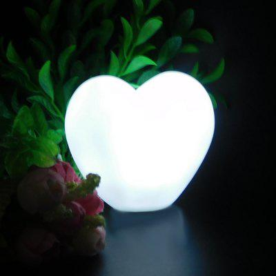 Lovely Heart Night Light for Home Decoration