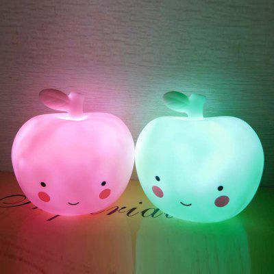 Portable Apple Shape Home Decoration LED Night Light