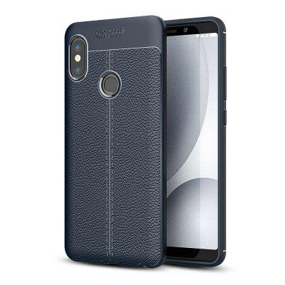 Luanke Litchi Grain Phone Cover for Xiaomi Redmi Note 5