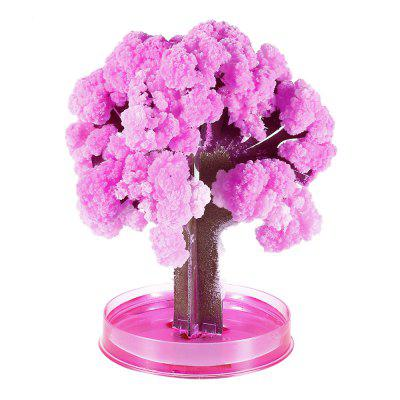 Magic Paper Growing Blossom Tree Decoration - CHERRY TREE PINK
