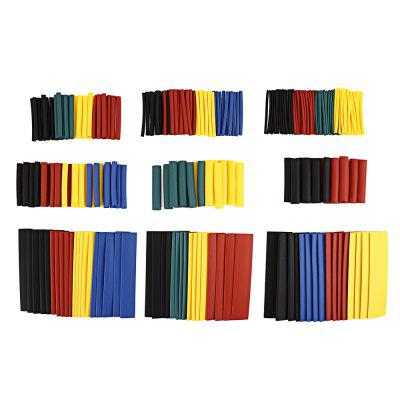 328PCS Polyolefin Heat Shrink Tube Sleeving Set  -  COLORMIX