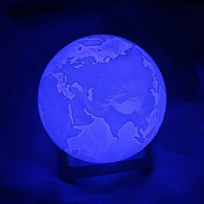 Lâmpada de toque 3D LED Night Light