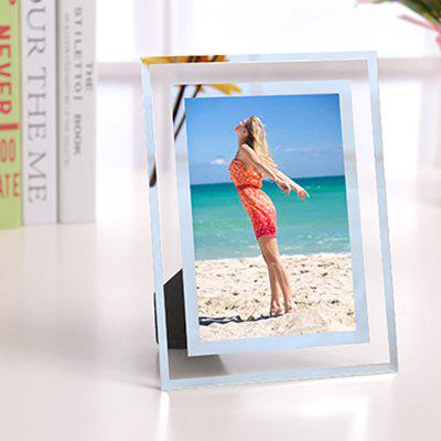 144 Crystal Photo Frame Tabletop Picture Display Stand