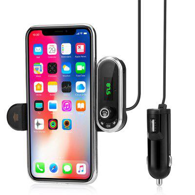 Bluetooth Hands-free Car Charger FM Transmitter MP3 Player