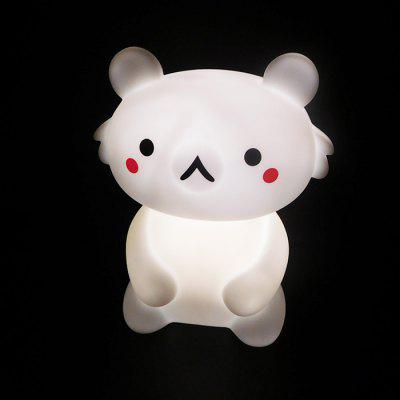 Creative Cartoon Bear Shape Night Light