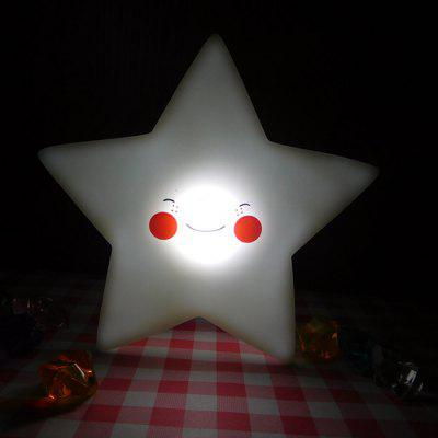 Creative Cartoon Star Shape Night Light