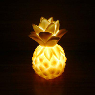 Creative Pineapple Shape Night Light