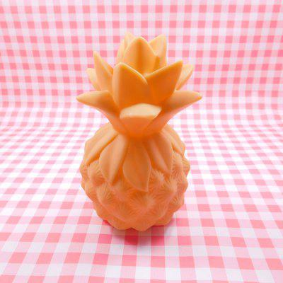 Creative Pineapple Shape Night LightNight Lights<br>Creative Pineapple Shape Night Light<br><br>Battery Quantity: 3 x LR44<br>Color Temperature or Wavelength: 3000k<br>Connector Type: Other<br>Features: Decorative<br>Initial Lumens ( lm ): 10lm<br>Light Source Color: White<br>Light Type: Night Light<br>Mini Voltage: 4.5V<br>Package Contents: 1 x Night Light<br>Package size (L x W x H): 10.00 x 10.00 x 15.00 cm / 3.94 x 3.94 x 5.91 inches<br>Package weight: 0.1070 kg<br>Power Source: Battery<br>Product size (L x W x H): 8.00 x 8.00 x 13.00 cm / 3.15 x 3.15 x 5.12 inches<br>Product weight: 0.0900 kg<br>Quantity: 1<br>Style: Cartoon<br>Wattage: Other