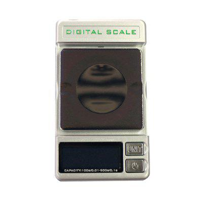 DS - 28 Mini Digital Jewelry Scale 1 8 lcd portable jewelry digital pocket scale 500g 0 1g 2 x aaa