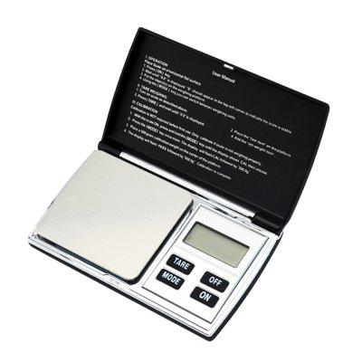 DS - 08 Portable Digital Scale 500g / 0.1g 2 4 lcd portable jewelry digital pocket scale 500g 0 01g 2xaaa