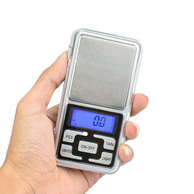 MH - 08 Compact Digital Scale 500g 0.1g 2 4 lcd portable jewelry digital pocket scale 500g 0 1g 2xaaa
