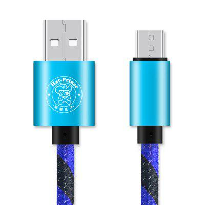 Hat - Prince Micro USB 2A Charging Data Transmission Cable