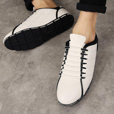 Z6 61301 Men British Style Leisure Sports ShoesCasual Shoes<br>Z6 61301 Men British Style Leisure Sports Shoes<br><br>Brand: Z6<br>Closure Type: Lace-Up<br>Contents: 1 x Pair of Shoes, 1 x Box<br>Function: Slip Resistant<br>Materials: Rubber, PU<br>Outsole Material: Rubber<br>Package Size ( L x W x H ): 28.00 x 8.00 x 10.00 cm / 11.02 x 3.15 x 3.94 inches<br>Package weight: 0.7800 kg<br>Product weight: 0.7000 kg<br>Style: Comfortable, Casual<br>Type: Sports Shoes<br>Upper Material: PU