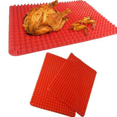 Silicone Non-stick Pyramid Shape Baking Mat 1pc