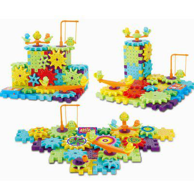 Kids Changeable Educational Dynamoelectric Building BlockBlock Toys<br>Kids Changeable Educational Dynamoelectric Building Block<br><br>Gender: Unisex<br>Materials: Plastic<br>Package Contents: 1 x Electric Gears 3D Puzzle Building Kits<br>Package size: 30.00 x 22.00 x 6.00 cm / 11.81 x 8.66 x 2.36 inches<br>Package weight: 0.4420 kg<br>Suitable Age: Kid<br>Theme: Other<br>Type: Kids Building